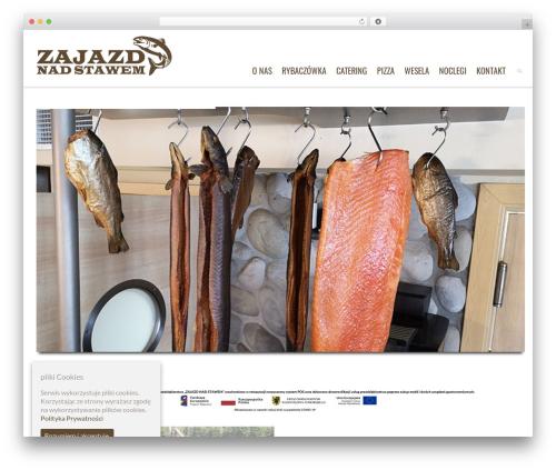 Dante best hotel WordPress theme - zajazdnadstawemkaszuby.pl