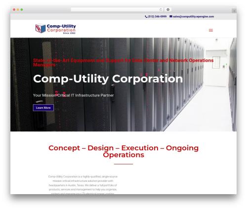 Divi theme WordPress - comp-utility.com