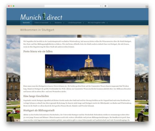 Domestica WordPress theme - munich-direct.com