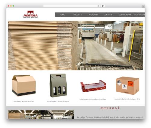 edsbootstrap free WordPress theme - mottolaimballaggi.it