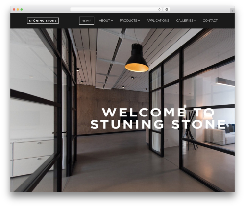 Focal premium WordPress theme - stuningstonecanada.com