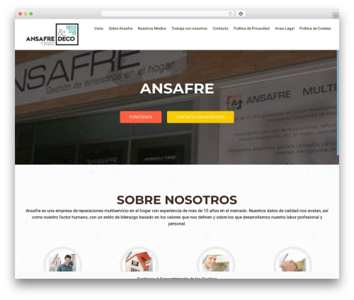 OnePirate WordPress theme - ansafre.com