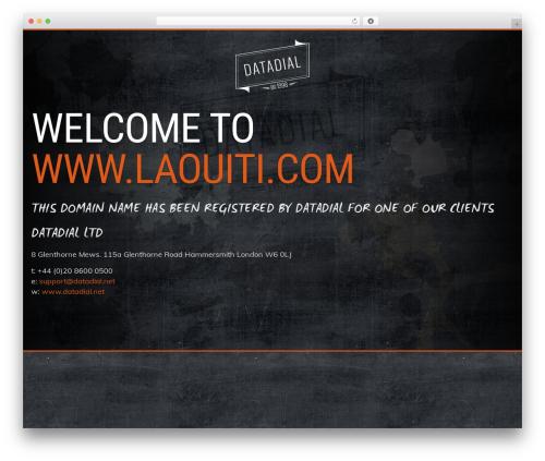 Prima by datadial WordPress theme - laouiti.com
