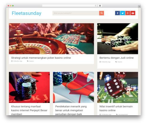 SociallyViral by MyThemeShop WordPress shopping theme - fleetasunday.com