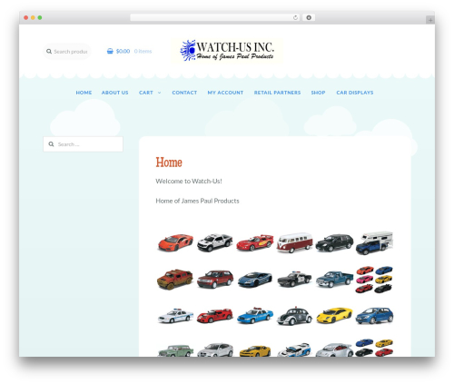 Storefront free website theme - jamespaulproducts.com