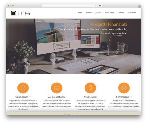 Stratus WordPress theme design - nilos.it