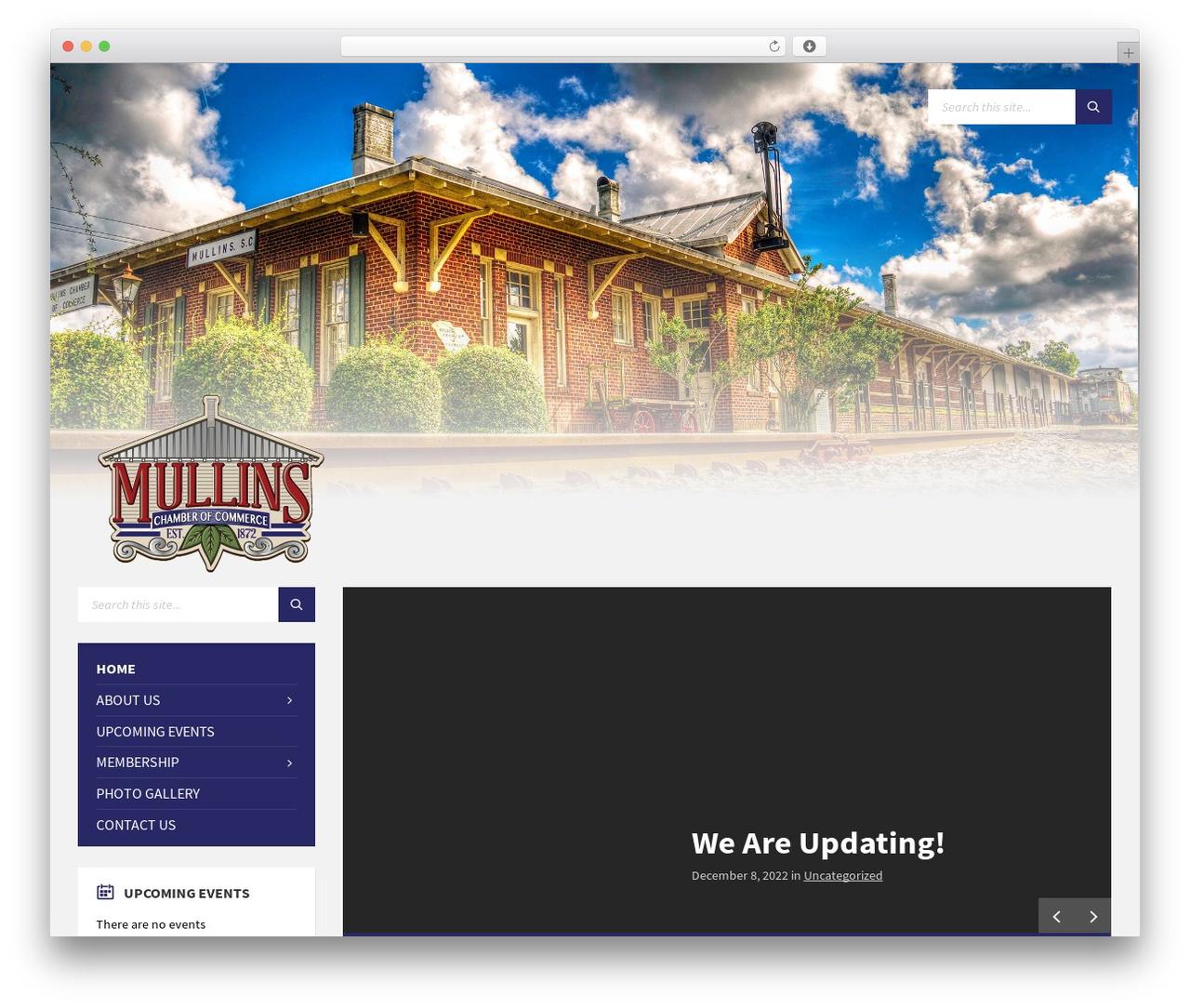 TownPress theme WordPress - mullinschamber.com