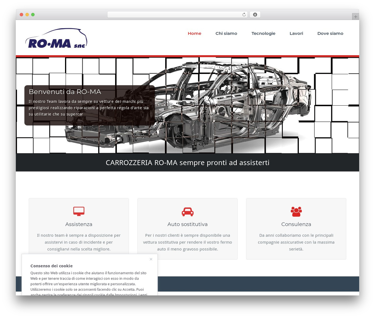 WordPress theme BusiProf Pro - ro-ma.it