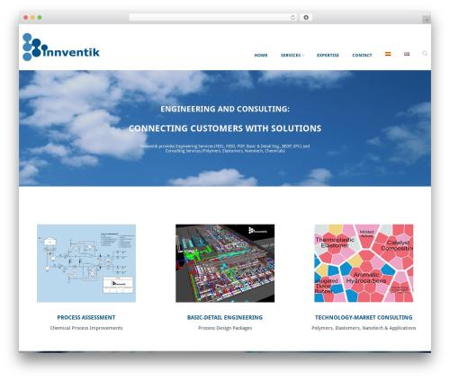 WordPress theme Innventik - innventik.com
