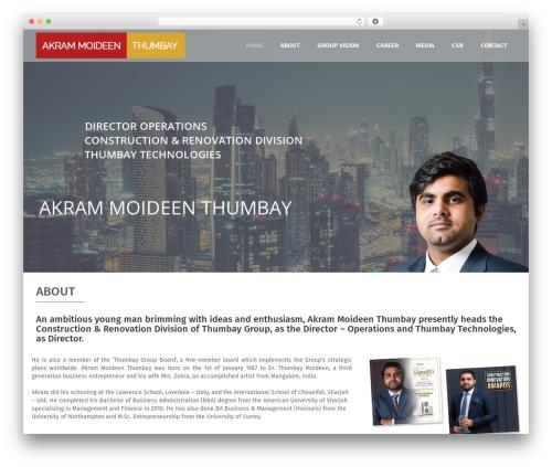 Free WordPress ThemeFarmer Companion plugin - akrammoideenthumbay.com