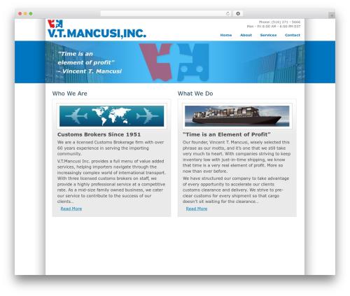 WordPress theme TekNium - vtmancusi.com