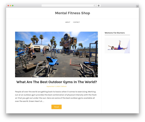 WP theme BlogFeedly - mental-fitness-shop.com