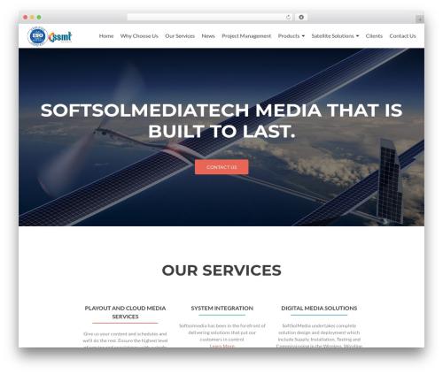Zelle Lite WordPress theme - softsolmedia.com