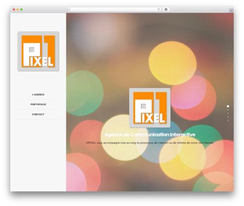 01PIXEL WordPress theme design - 01pixel.com