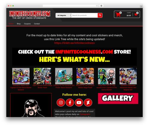 Alpha Store WordPress theme download - infinitecoolness.com