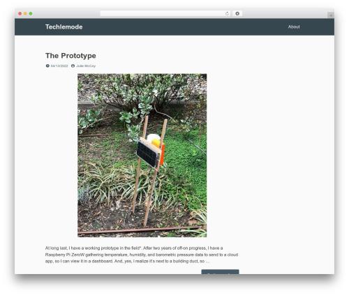 Dan free WordPress theme - techlemode.com