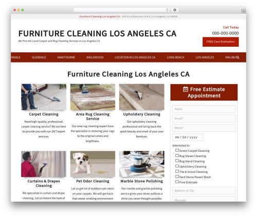 Decree free WordPress theme - furniturecleaningservices.com