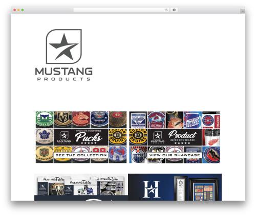 Divi theme WordPress - mustangproduct.com