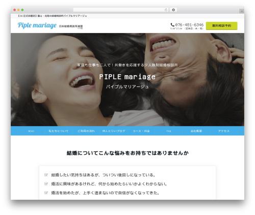 Emanon Pro WordPress theme design - piple.info