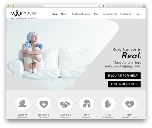 Extra premium WordPress theme - withoutaribbon.org