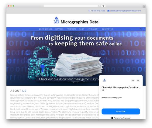 Infinite template WordPress - micrographicsdata.com