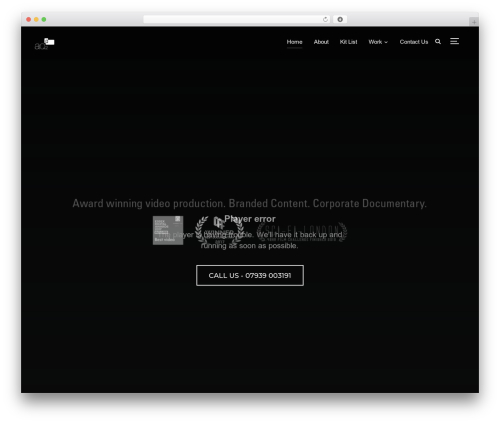 Inspiro WordPress movie theme - aq2.info