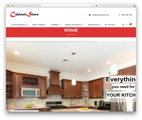 kitchen best WooCommerce theme - cabinetsstore.com