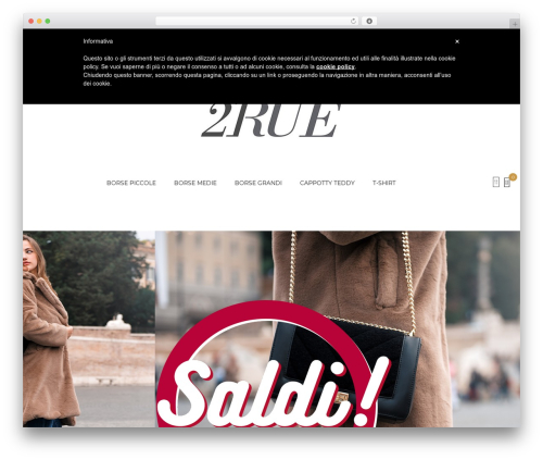Kute Boutique WordPress shopping theme - 21rue.it