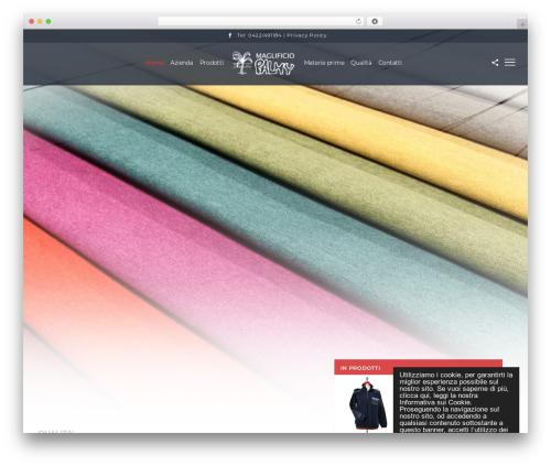 SceneOne theme WordPress - maglificiopalmy.com