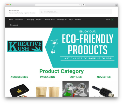 Shoptimizer premium WordPress theme - kreativekush.com