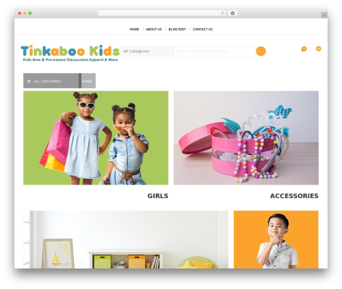 SparkleStore WordPress theme download - tinkabookids.com