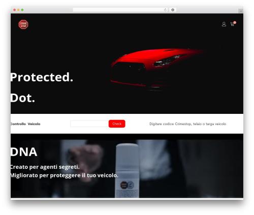 Supro WordPress theme - crime-stop.com