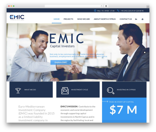 Template WordPress Investment - emic-invest.com