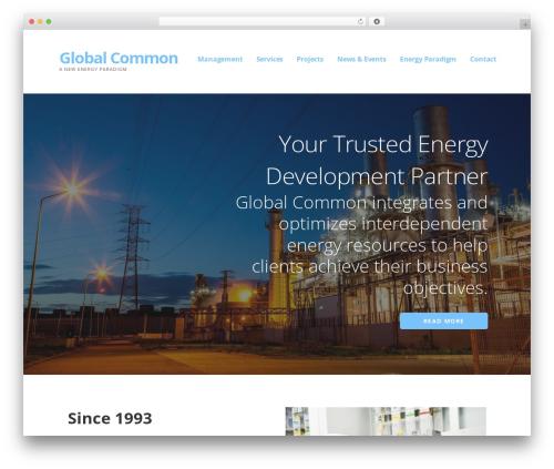 Theme WordPress Ascension - globalcommon.com