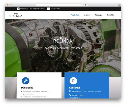 Theme WordPress Starflix - rolinda.lt