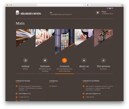 Themis - Law Lawyer Business WordPress Theme business WordPress theme - vipadvokat.com