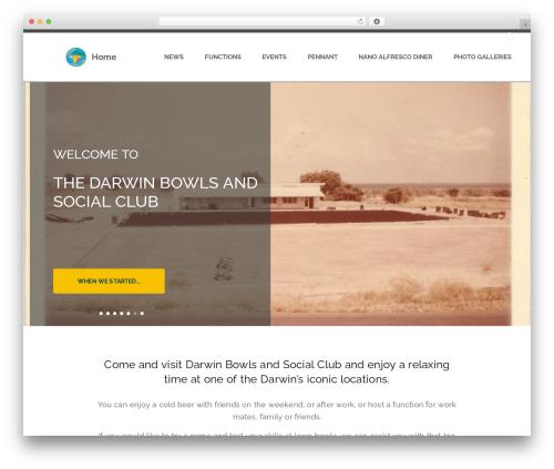 WordPress template BA Club theme - darwinbowlsclub.com.au