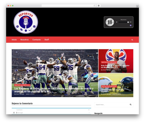 WP template Higher Place - deportesalaire.com