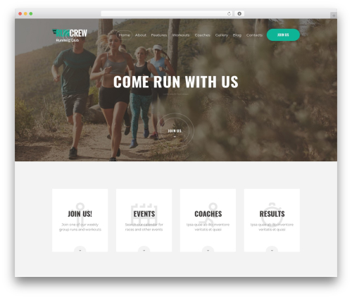 WP template RunCrew - peloncorredor.com