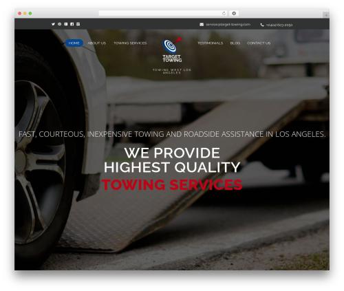 YolandDesign best WordPress template - target-towing.com