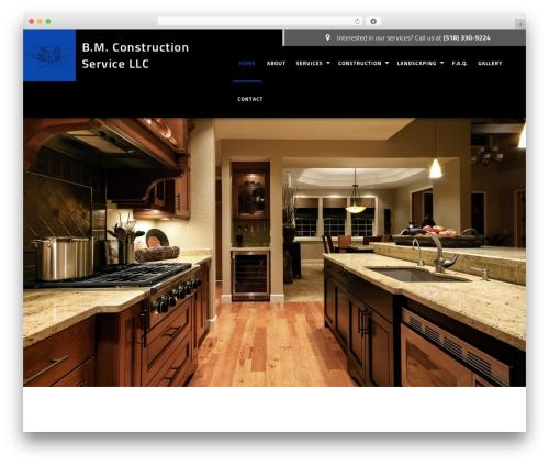 Best WordPress template General Contractor 6 - bmconstructionservicellc.com