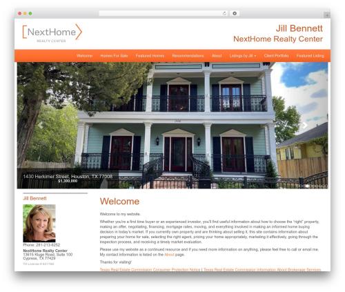 Best WordPress template NextHome Responsive - jillbennettteam.com