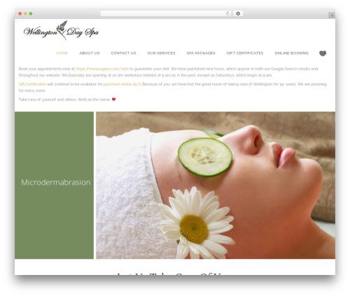 Kendall top WordPress theme - wellingtondayspa.com