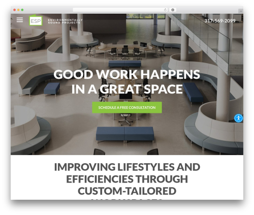 Reach Local WordPress template for business - espfurnishings.com