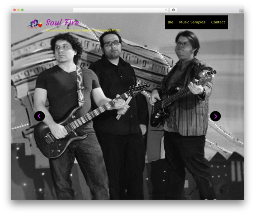 Rock Star Pro WP template - soulfireatlanta.com