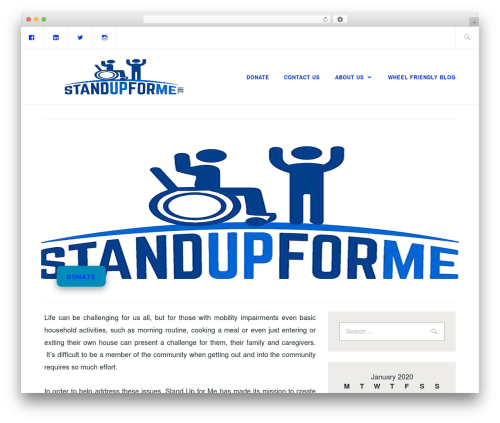 Template WordPress Ixion - standup4me.org