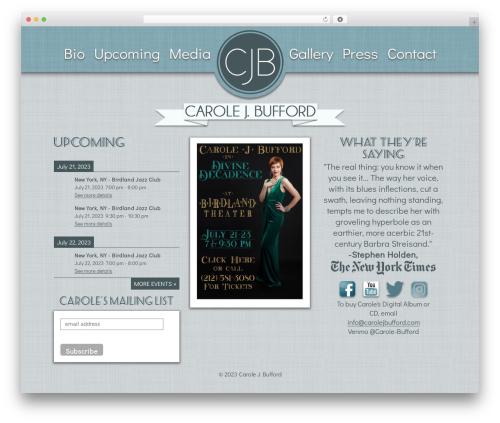 Web Development Kit WordPress theme - carolejbufford.com