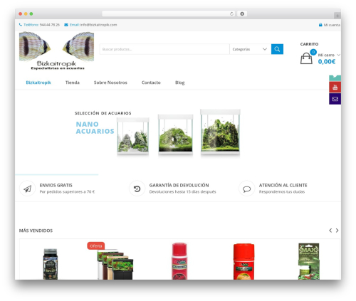 WordPress template Clickbuy - bizkaitropik.com