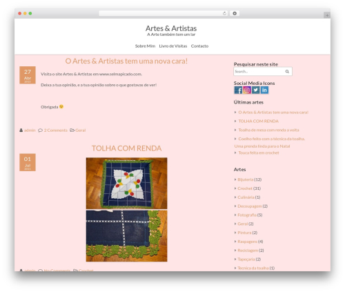 Best WordPress template ZenEarth - selmapicado.com