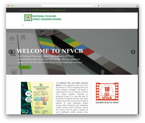 Betheme WordPress video template - nfvcb.gov.ng